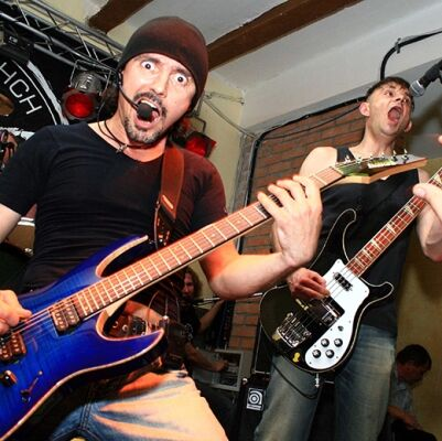 Учасники гурту «Борщ»